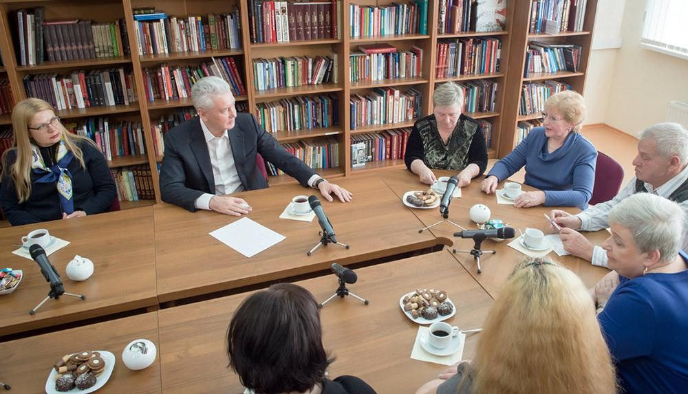 Сергей Собянин на встрече с жителями столицы