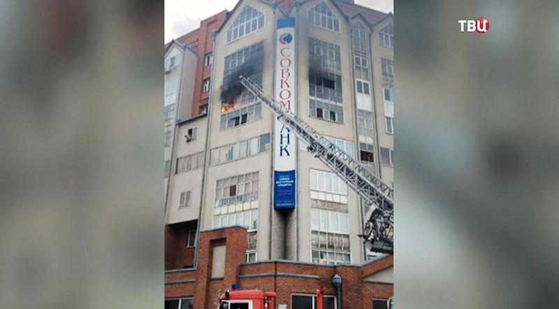 Пожар в Томске