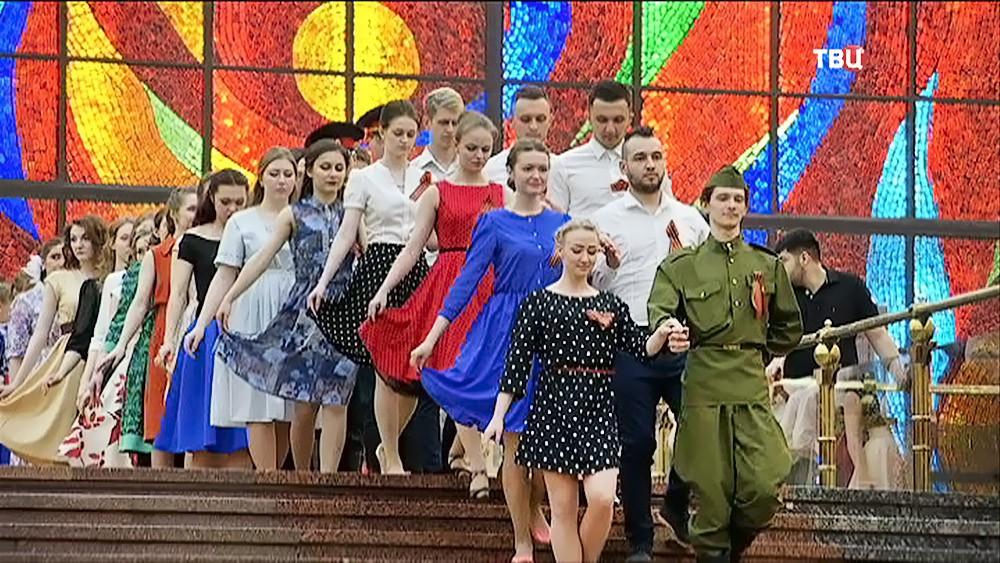 """Столичные студенты посетили """"Бал Победы"""""""