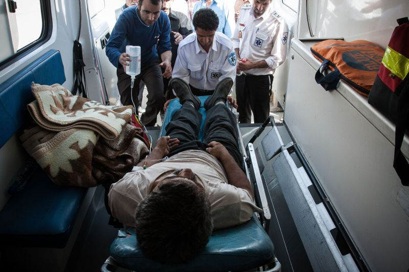 Скорая помощь в Иране