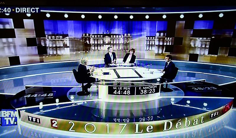 Предвыборные теледебаты во Франции