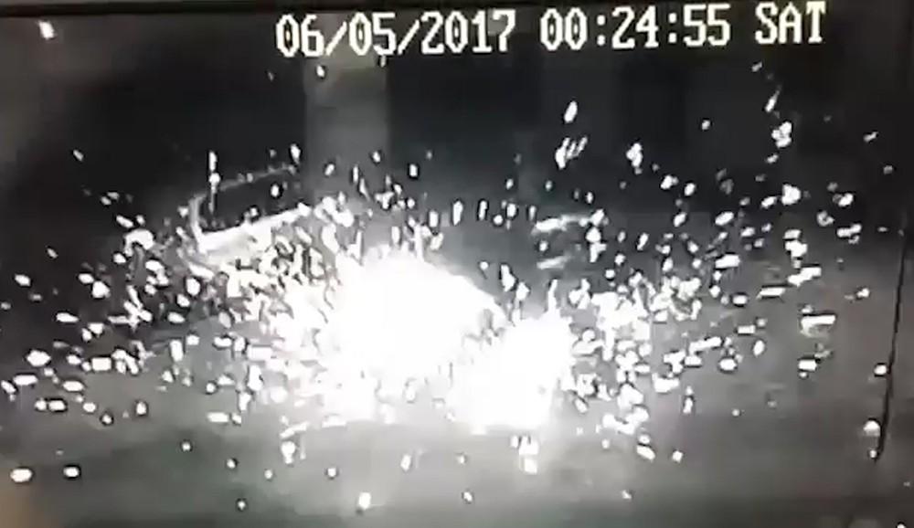 Взрыв гранаты в Одессе