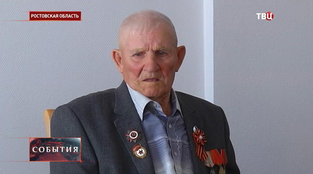 Ветеран ВОВ Алексей Павлович Тихомиров