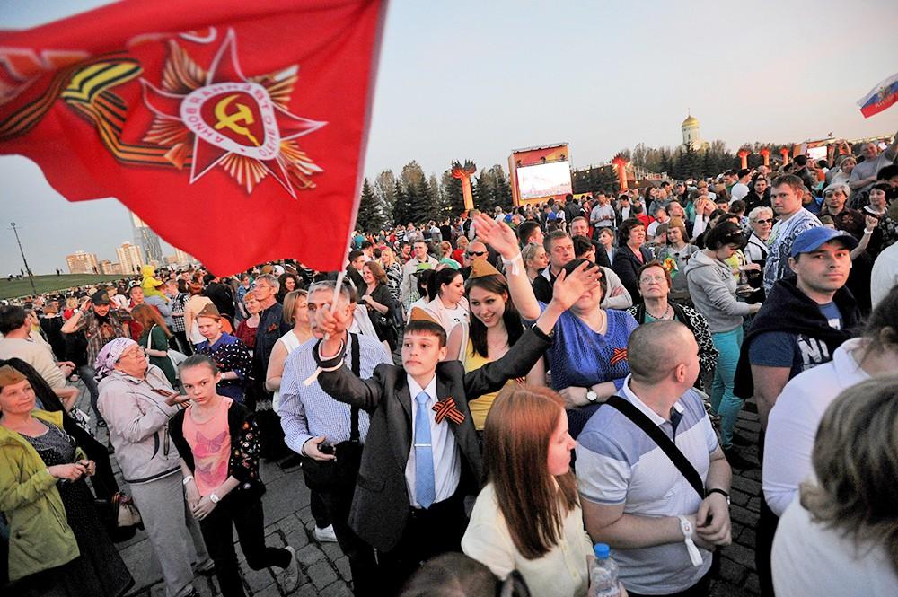 9 мая в Парке Победы на Поклонной горе