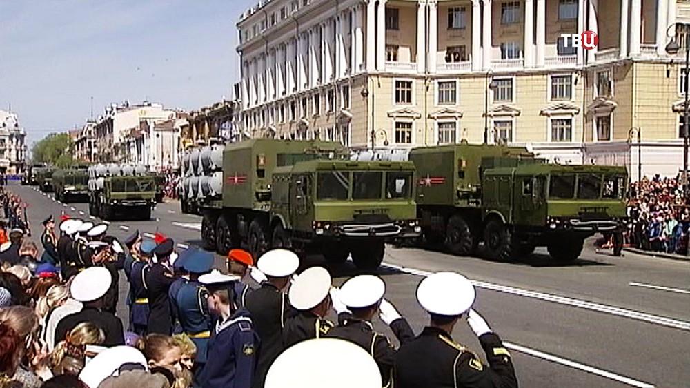 ВХабаровске прошел парад Победы