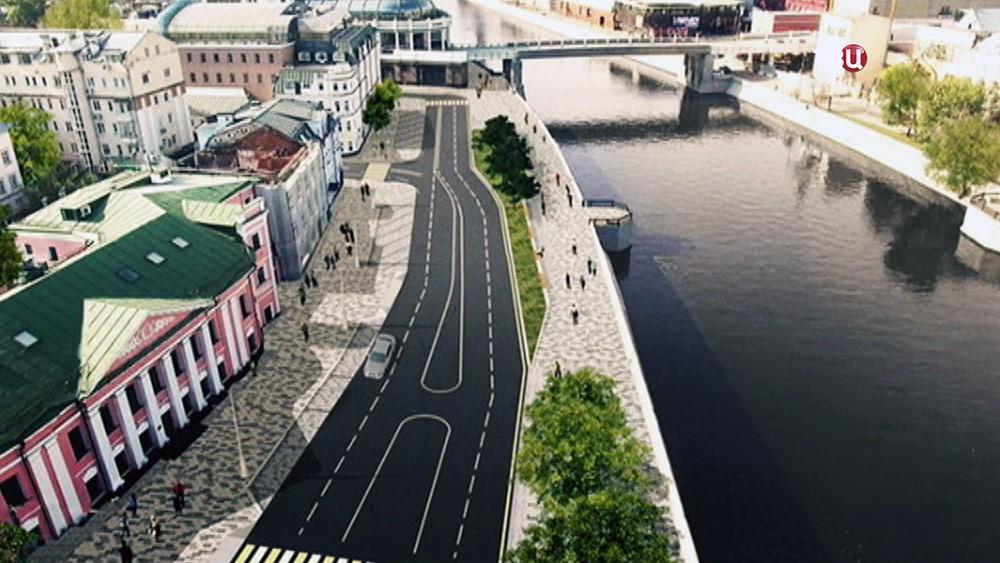 Проект обновления Якиманской набережной набережной