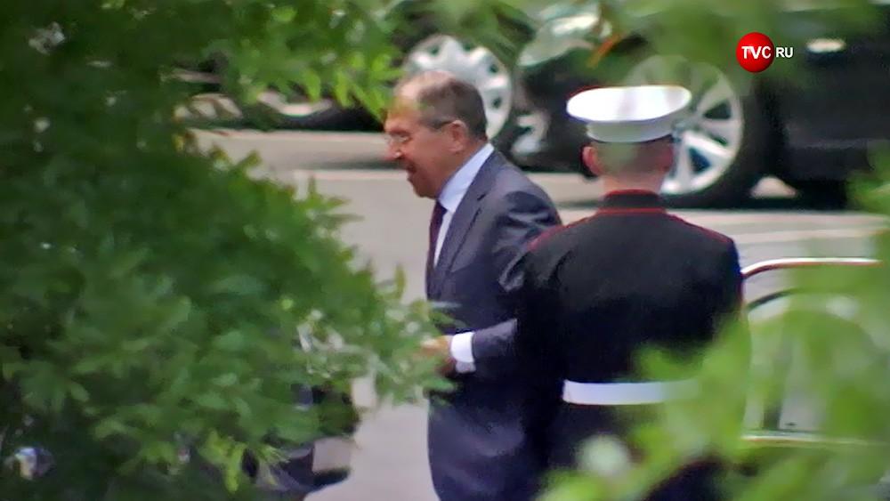 Глава МИД России Сергей Лавров с визитом в США