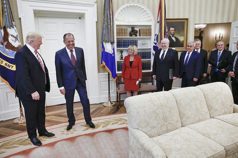 Картинки по запросу лавров трамп фото