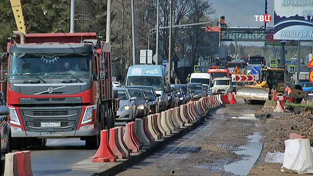 Реставрация Старошереметьевского шоссе