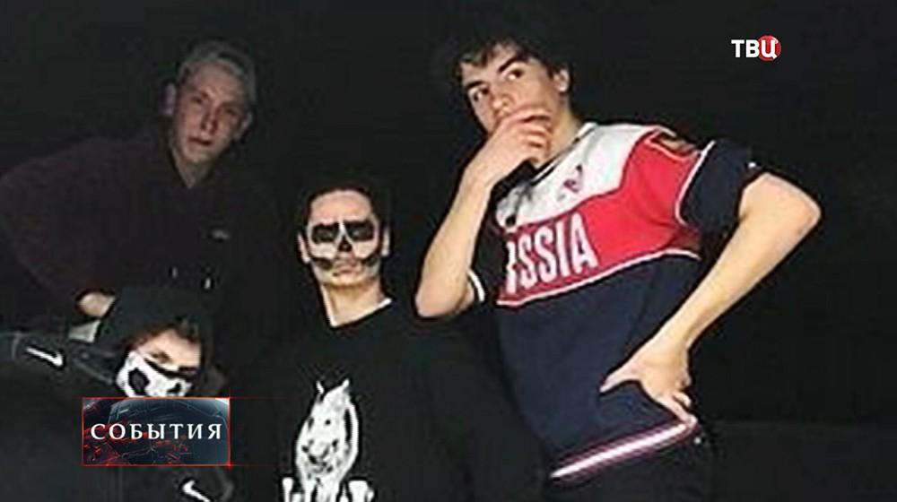 Сын Петра Порошенко в майке с надписью Russia