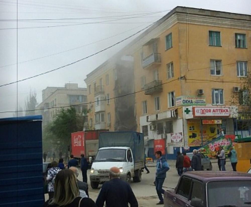 Взрыв в жилом доме Волгограда