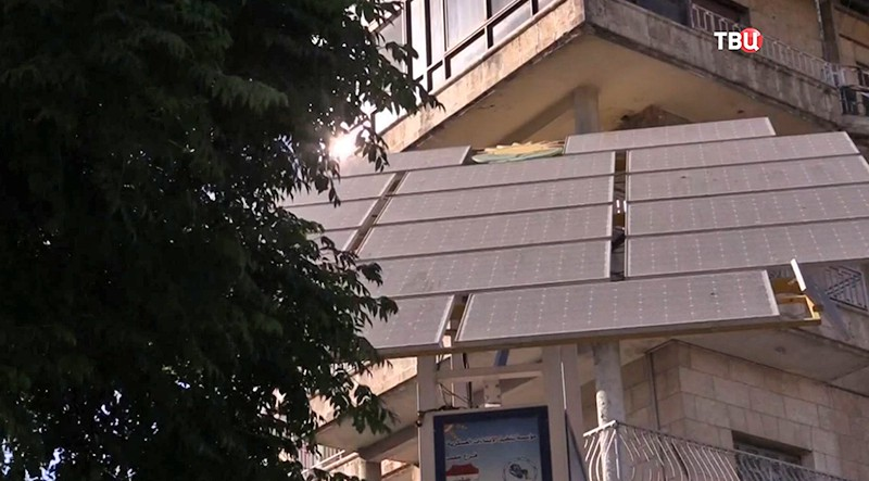 Восстановление электроснабжения в Сирии