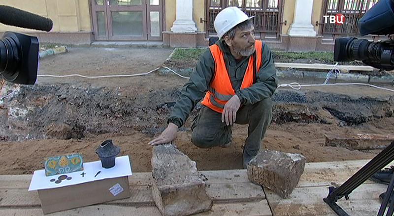 Найденые раскопки в Москве