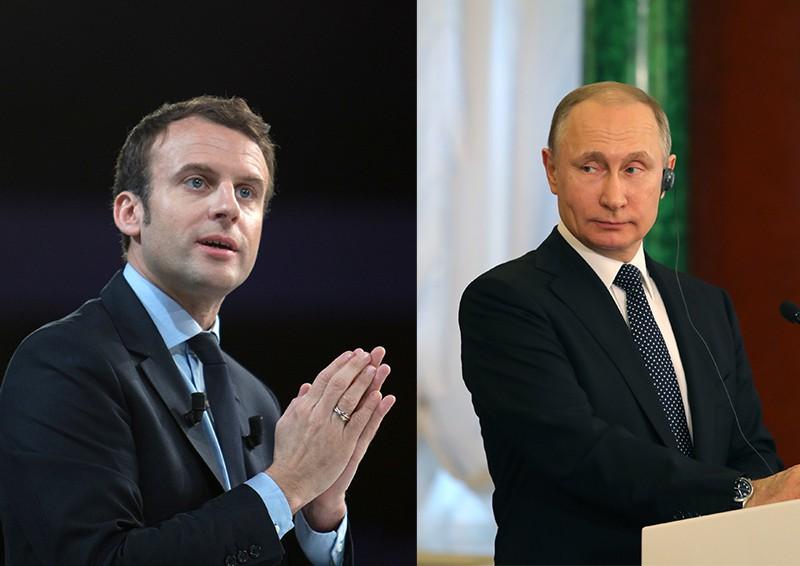 Путин и Макрон обсудили международные и региональные вопросы