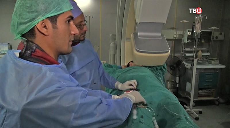 Хирурги в Сирии