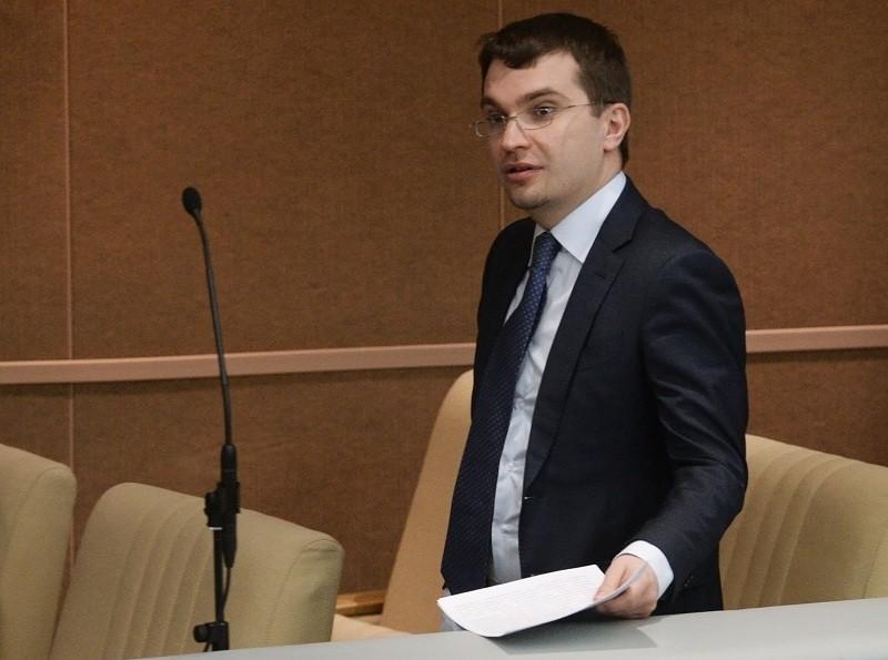 Замминистра юстиции России Михаил Гальперин