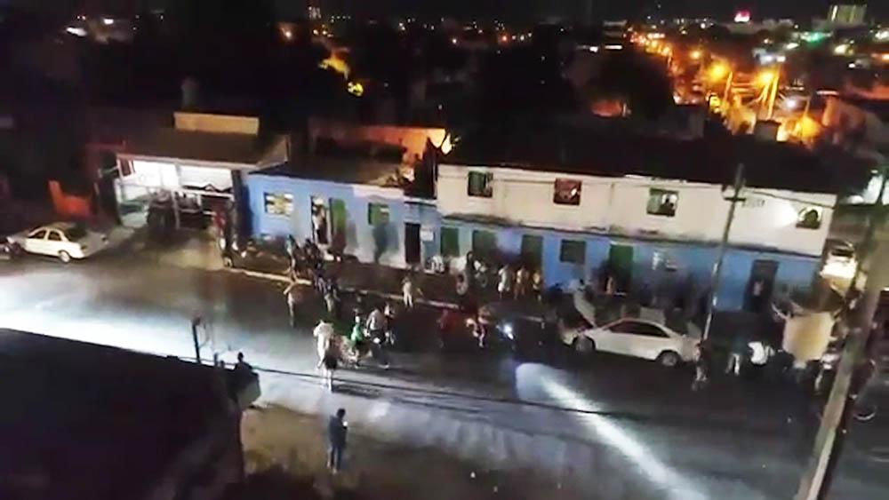 Нападение толпы на россиянина в Мексике