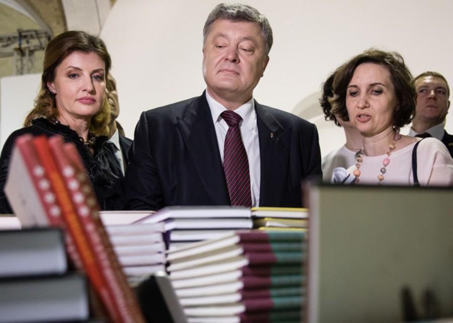 Петр Порошенко посетил книжную ярмарку