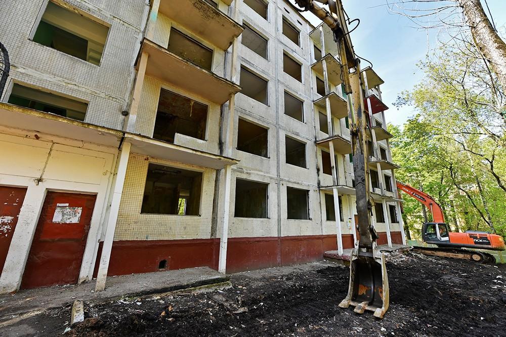Московский фонд реновации хотят освободить отуплаты налогов