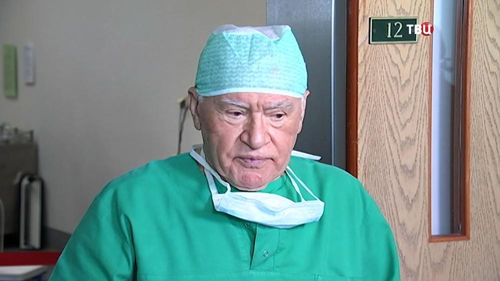 Кардиохирург Лео Бокерия