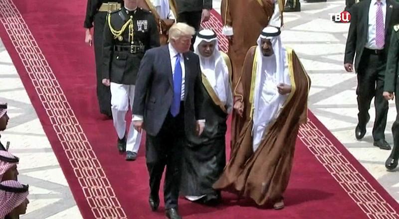 "Дональд Трамп в аэропорту ""Бен-Гурион"""