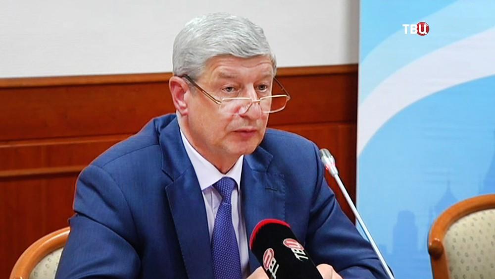 Руководитель столичного департамента градостроительной политики Сергей Лёвкин