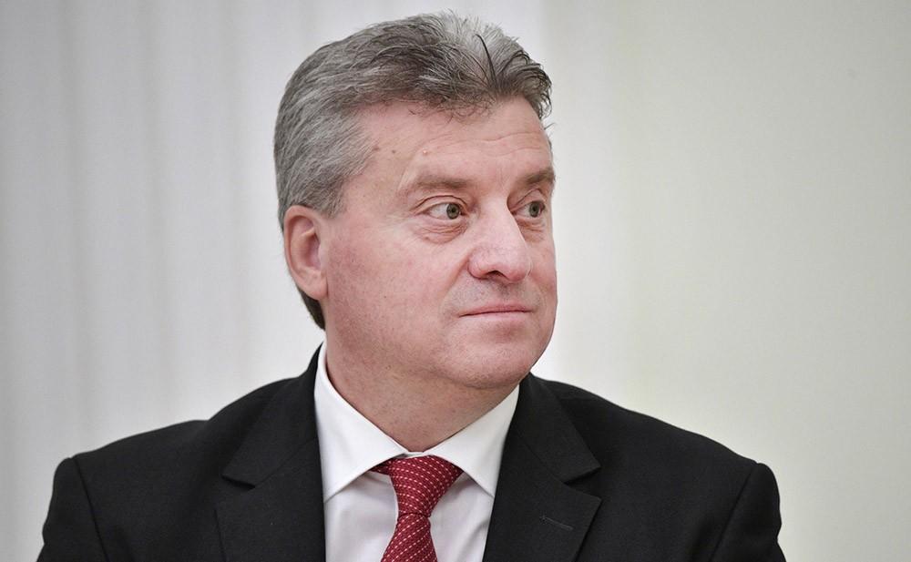Президент Македонии Гёрге Иванов