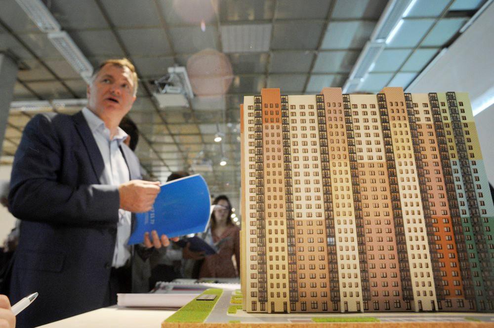 Марат Хуснуллин на открытии Международной выставки архитектуры и дизайна АРХ Москва