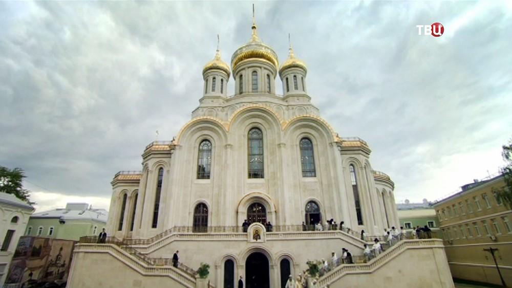 Новый храм Воскресения Христова и Новомучеников и Исповедников Церкви Русской
