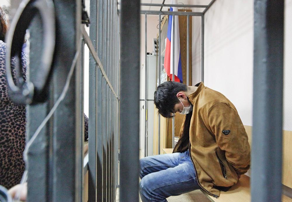 Подозреваемый в подготовке теракта в московском транспорте Мухаммадюсуф Ашуров