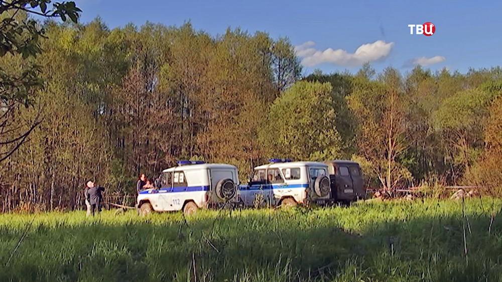 Полиция в лесу