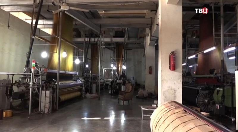 Фабрика по производству тканей в Сирии