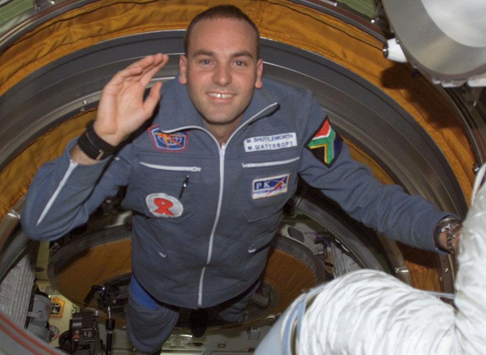Второй космический турист Марк Шаттлворт