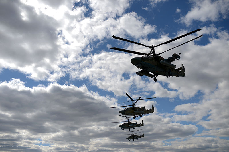 Вертолеты Ка-52