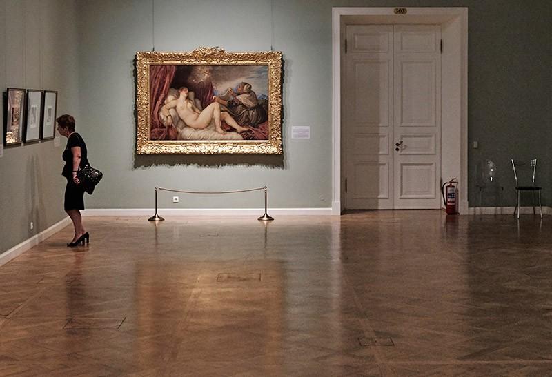 """Картина Тициана """"Даная"""""""