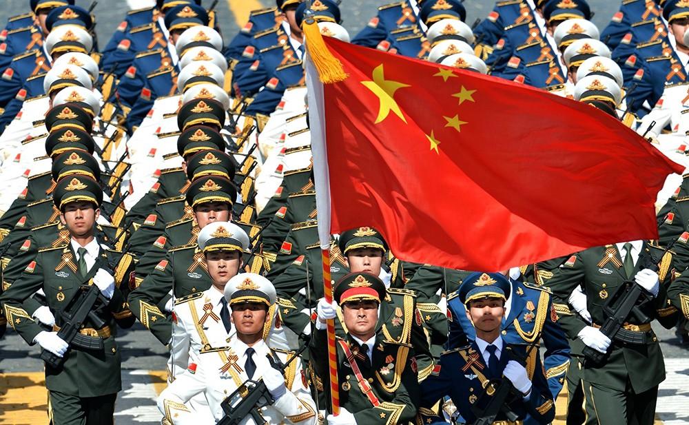 Военнослужащие армии КНР
