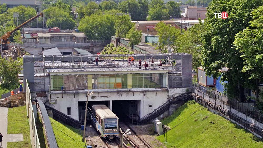 ГН Собянин: открытые станции Филевской линии метро оборудуют подогревом