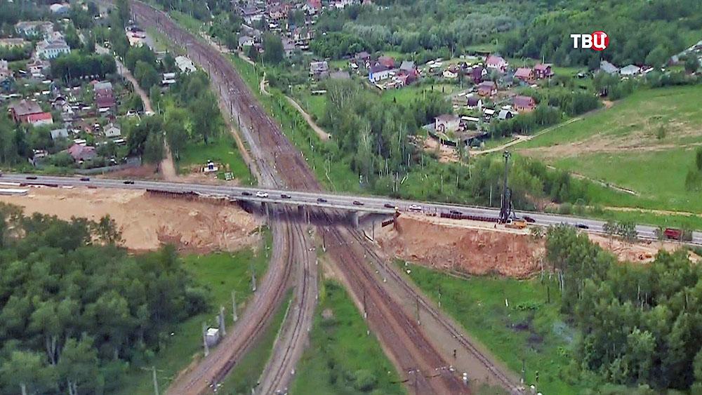 Строительство Центральной кольцевой автодороги (ЦКАД)