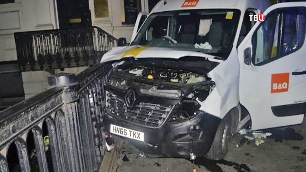 Задержание подозреваемых в теракте в Лондоне