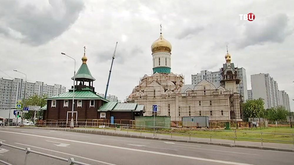 Храм в честь преподобного Андрея Рублева