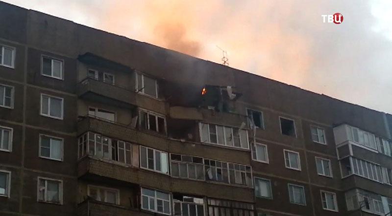 Взрыв газа в жилом доме в Тамбовской области