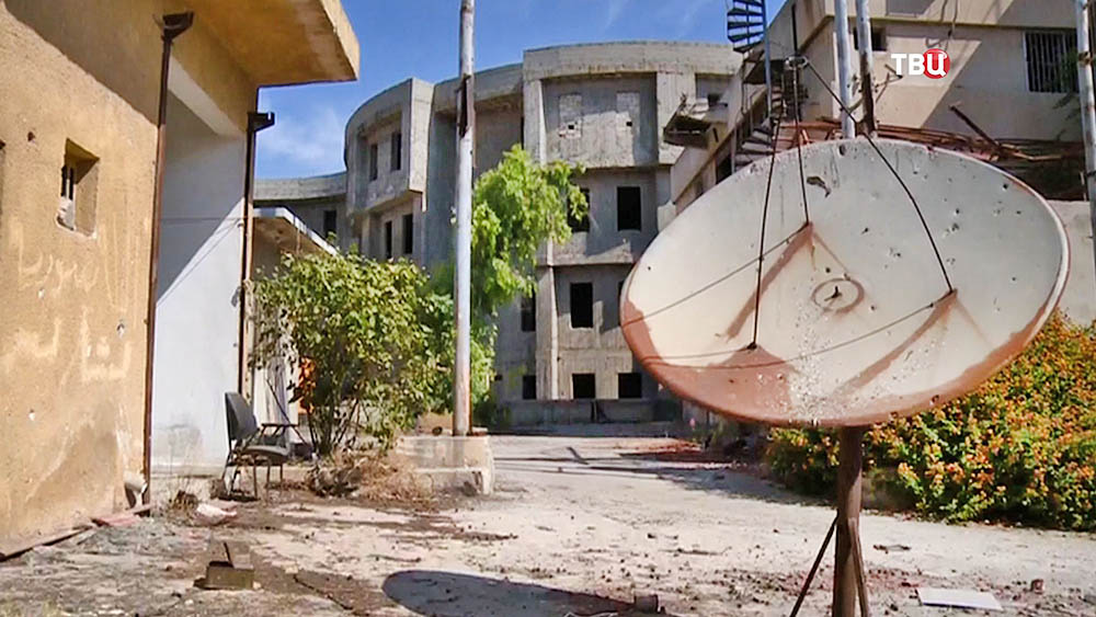 Работа телевидения в Сирии