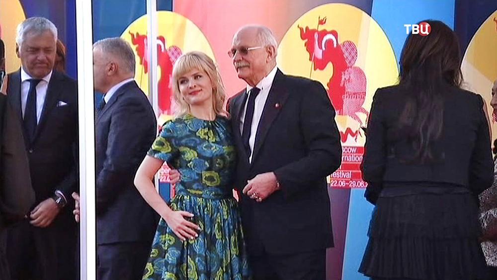 Никита Михалков на открытии Московского международного кинофестиваля
