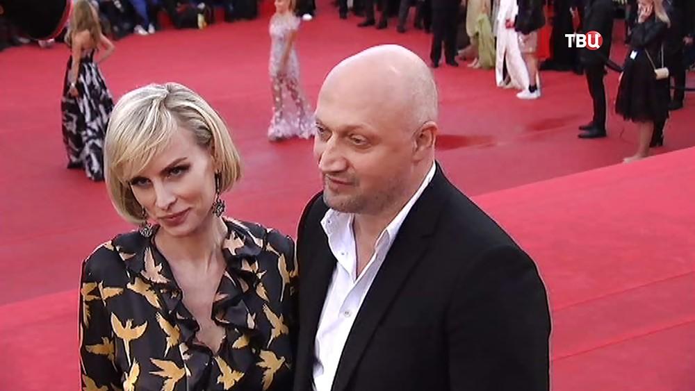 Гоша Куценко на открытии Московского международного кинофестиваля