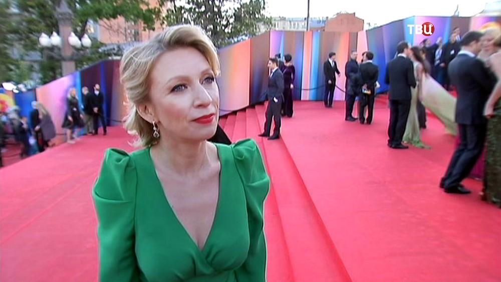 Мария Захарова на открытии Московского международного кинофестиваля