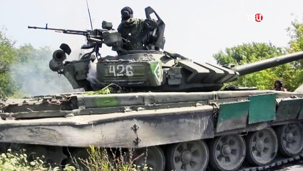 Военная техника в Донбассе