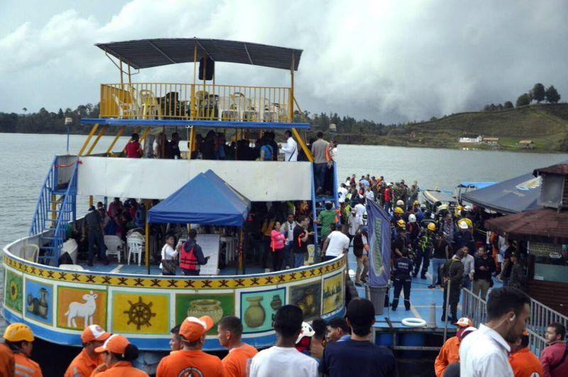 Прогулочное судно в Колумбии