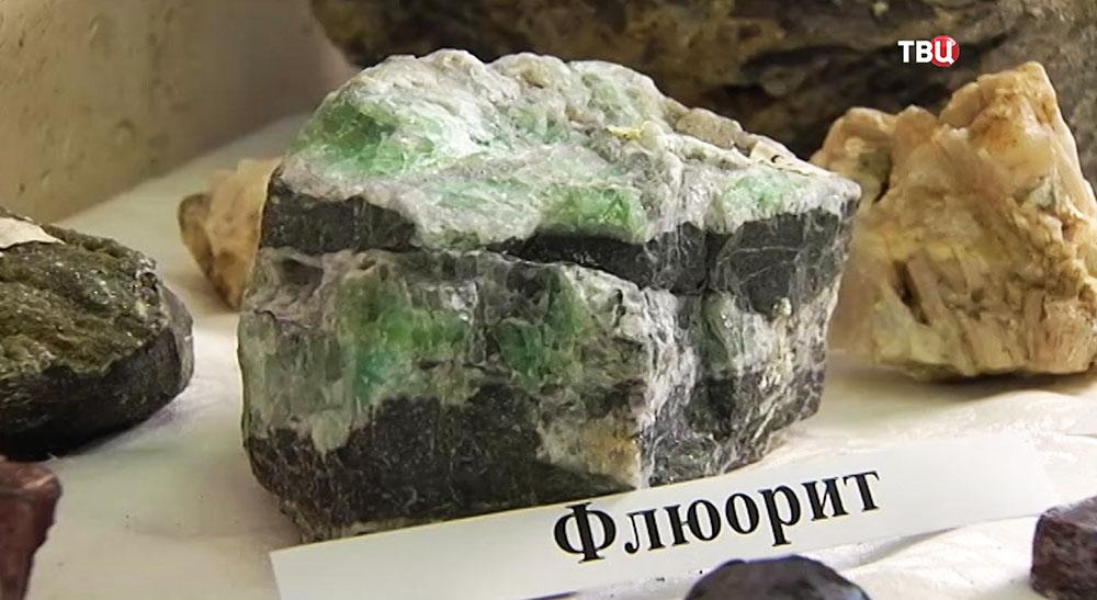 Выставка минералов на ВДНХ