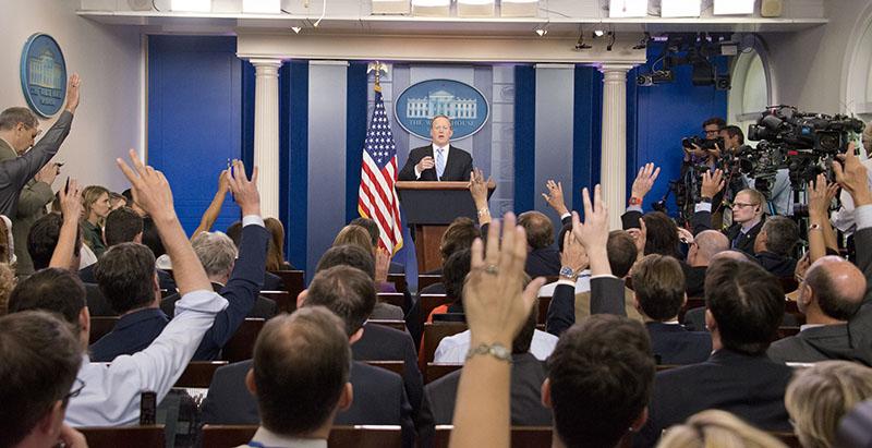 Пресс-секретарь Белого дома США Шон Спайсер