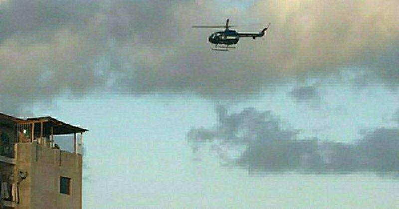 Атака вертолета в Венесуэле